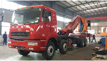 80ton cargo crane truck on truck or boat , Model No.: SQ1600ZB6, crane with hydraulic knuckle boom