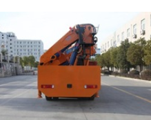 18ton cargo crane truck on truck or boat , Model No.: SQ360ZB4, crane with hydraulic knuckle boom