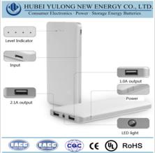 Polymer core portable power bank