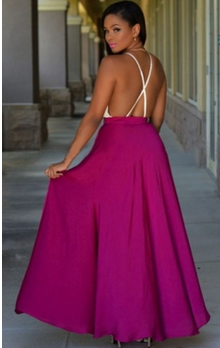 2015 trendy hot sale new design elegant long maxi skirt for young women