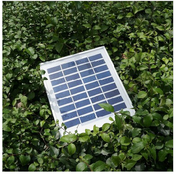 High quality customized design 250*180mm 12v 3w poly small size solar panel with aluminum frame