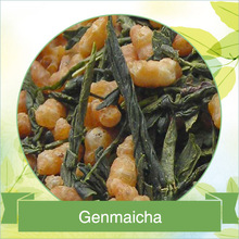 Genmaicha in green tea
