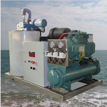 1 Ton Seawater Ice Maker (Used for Keeping Freshness to Seafoods)