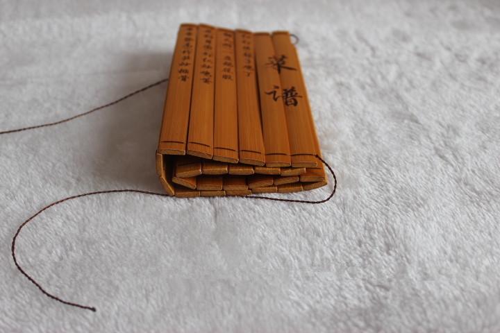 High quality bamboo menu / Chinese bamboo menu