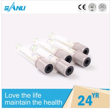 health products various style red cap blood test tube