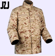 Reactive Camouflage/Military Cotton Uniform Clothing Army Parka