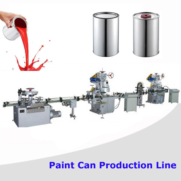 Automatic can body production line