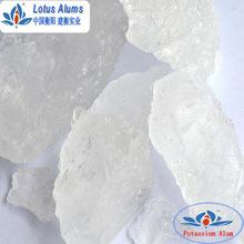 Natural food grade aluminum potassium sulfate/potassium alum