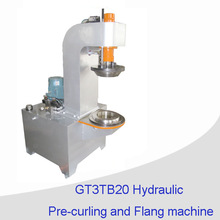 18L Conical can flanging machine