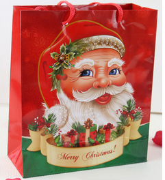 Craft bag / santa sack bag with drawstring