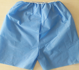 SMS light Blue Disposable Colonoscopy Pants for hospital