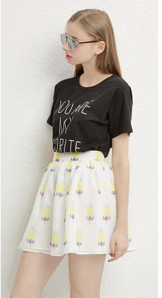 2015 Summer newest design fashion custom t shirt for women