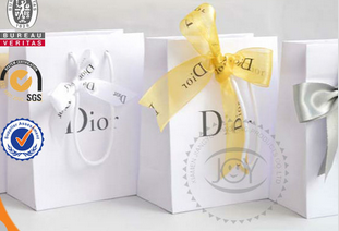 2015 Customized Packaging Paper Gift Bag/Gift Paper bag for custom bag