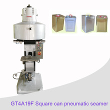 Semi-automatic can seaming machine