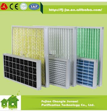HVAC air conditioning filters, panel air filters G4 F5 F6 F7 F8 F9