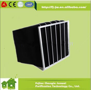 Low Airflow Activated Carbon Filter Bag, Spray Booth Carbon Air Filter