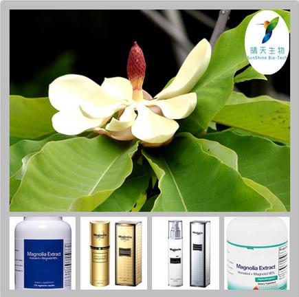 Factory Supply Magnolia officinalis P.E. 2%-98% Magnolol