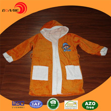 2015 New Design orange bathrobe