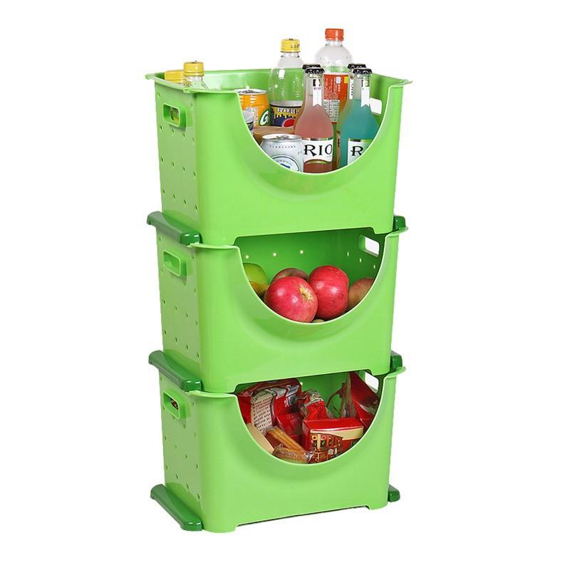Large superimposed fruit basket