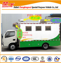 Dongfeng 4x2 mobile food truck for sale