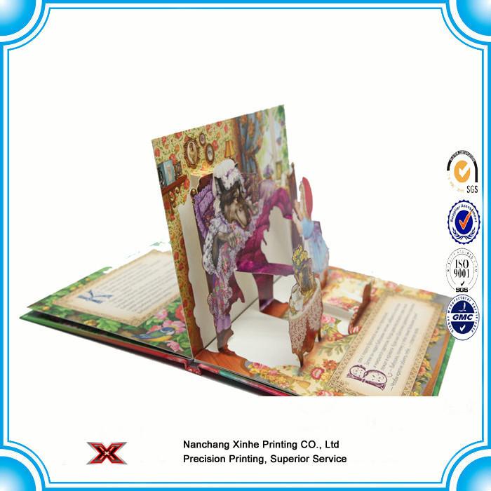 Low price Custom Hardcover Book Printing