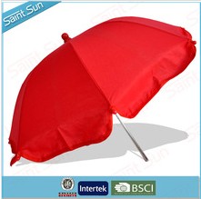 2015 Highest Quality Baby Umbrella with Clamp TC cutton fabric