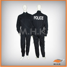 Police Coverall - 2 zips French style