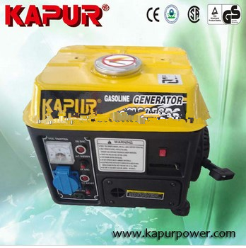 KAPUR Gold Quality KG950DC air cooled 2 stroke small home use gasoline generator price