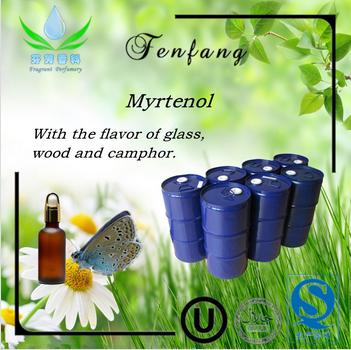 Food grade chemicals Myrtenol raw material of daily chem