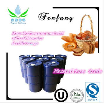 Raw material of food flavour for Beverage Natural Rose Oxide