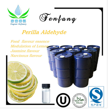 Perilla Aldehyde Fragrance for Lemon & Mentha Spicata and food flavor essence