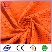 Dry fit bird eye polyester mesh fabric for running shoes