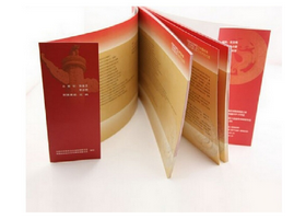 Brand New custom cheap catalogue full color book printing