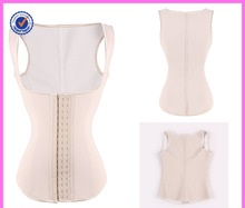Wholesale Lover-beauty 3 Hooks 9 Steel Bones Latex Corset Waist Training Vest