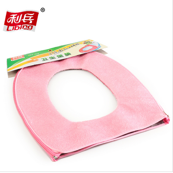 Comfortable toilet seat cushion cover mat