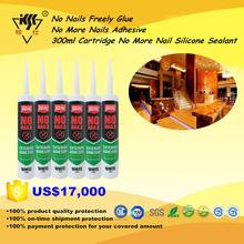 No Nails Freely Glue No More Nails Adhesive 300ml Cartridge No More Nail Silicone Sealant