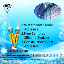Waterproof Fabric Adhesive Free Samples Construction Glass Adhesive