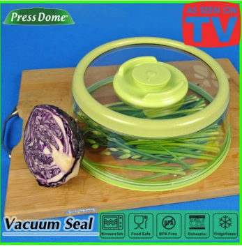 Microwave vacuum Press Dome lid as seen on tv hot promotional gift item wholesale