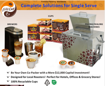 New 2015 k-cup capsule coffee filling and sealing machine factory