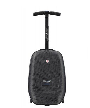 PC/EVA luggage abs spinner luggage with 3 wheels