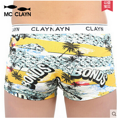 MC CLAYN Children's Clothing printing Panties brand new comfortable 100% cotton kids underwear boys boxer children panties