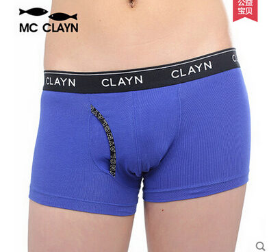 MC CLAYN Quality 2015 New Children Cotton Underwear Boxer short Boys Cotton Panties International brands Boy cotton Cuecas