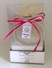 Spherical ceramic flower perfume volatile liquid