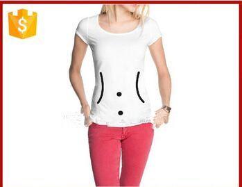 2015 newtes design printed t shirts cheap white cotton spandex t-shirts