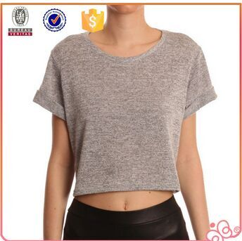 2015 new fashion china factory crop top ladies clothing