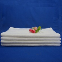 Cotton face disposable bathroom shower towel