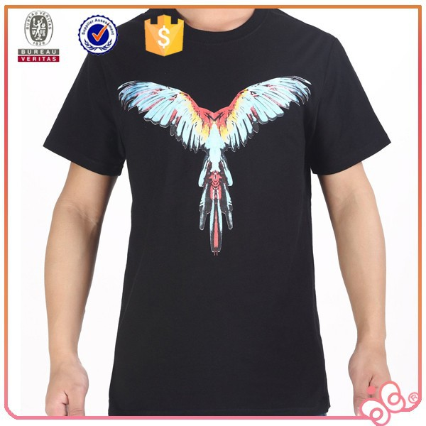 2015 china manufacturer custom men black tshirts bulk