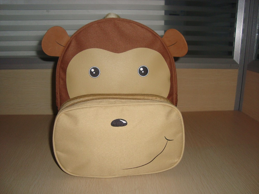 Kids Animal Backpack, Kids Zoo Animal Backpack, Animal Backpack, Monkey Backpack