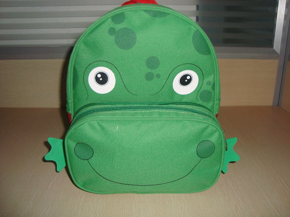 Kids Animal Backpack, Kids Zoo Animal Backpack, Animal Backpack, Frog Backpack