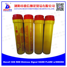 Dece 60S Solas RED Distress Signal Hand FLARE w/SMOKE